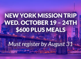 New York Missions Trip
