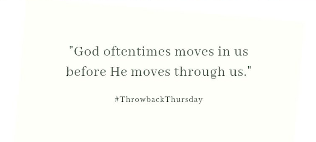 Throwback Thursday – August 11, 2019