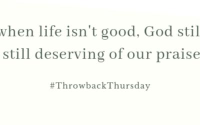Throwback Thursday – September 29, 2019
