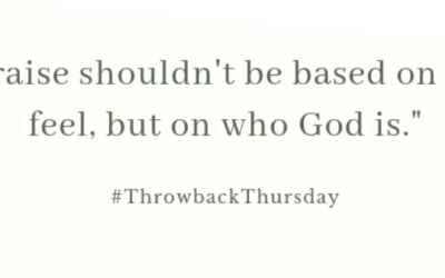 Throwback Thursday – October 6, 2019