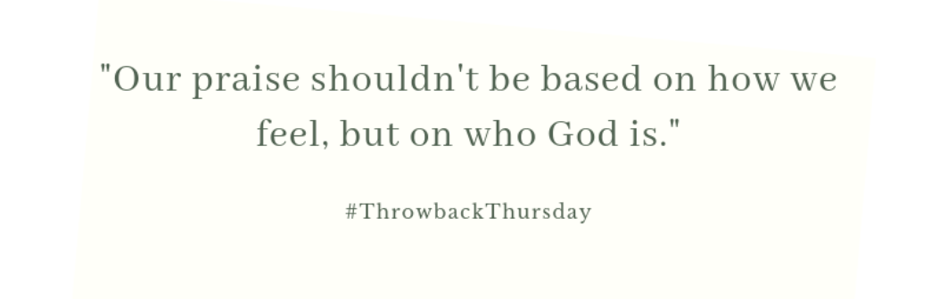 Throwback Thursday – October 6, 2019