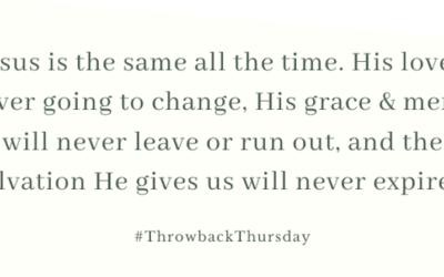 Throwback Thursday – November 24, 2019