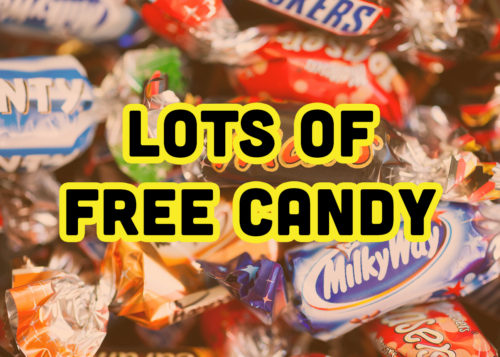 Lots of Free Candy