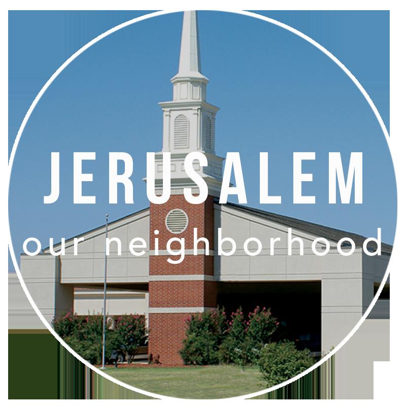 Jerusalem - Our Neighborhood