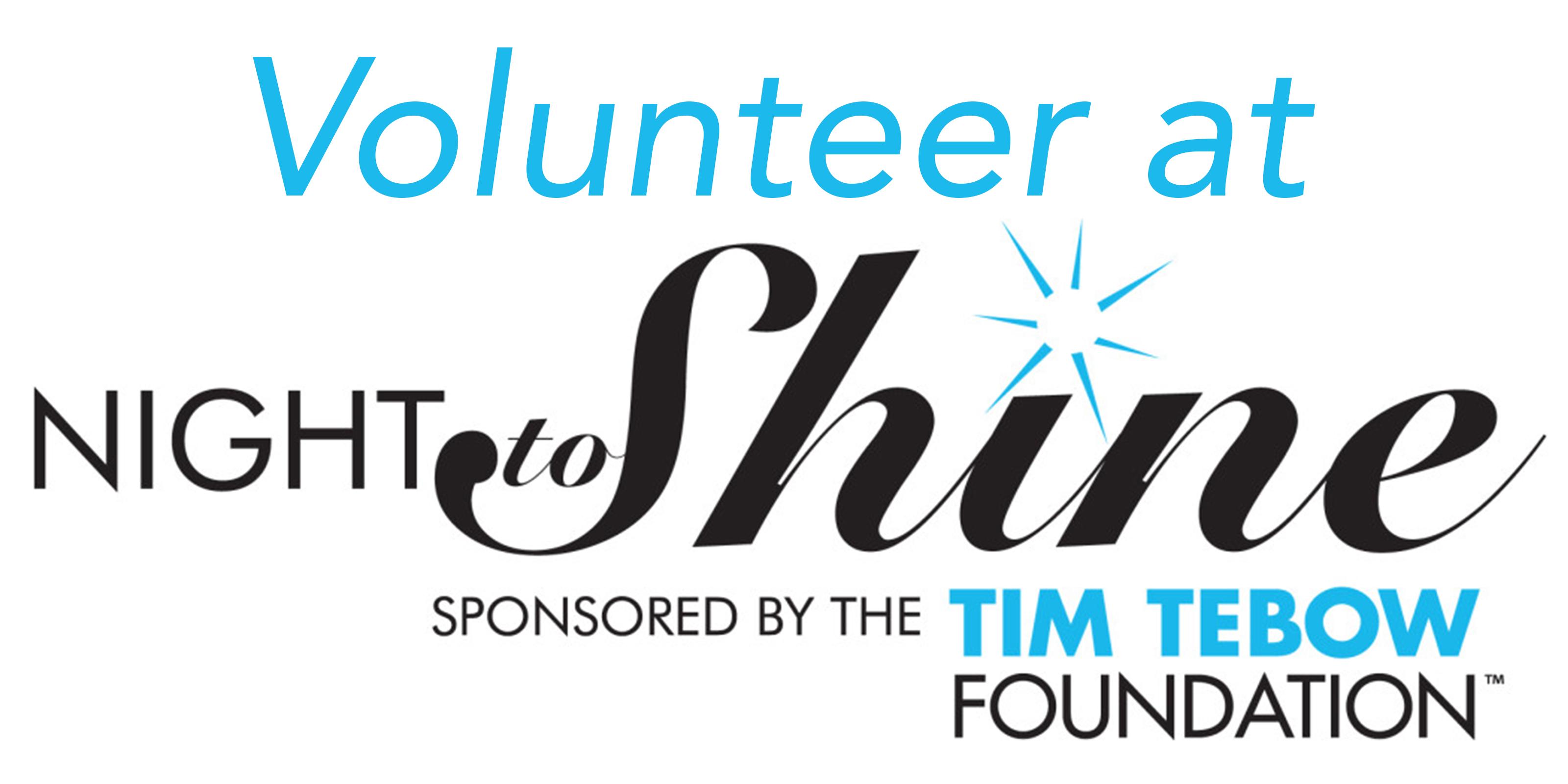Volunteer at Night to Shine