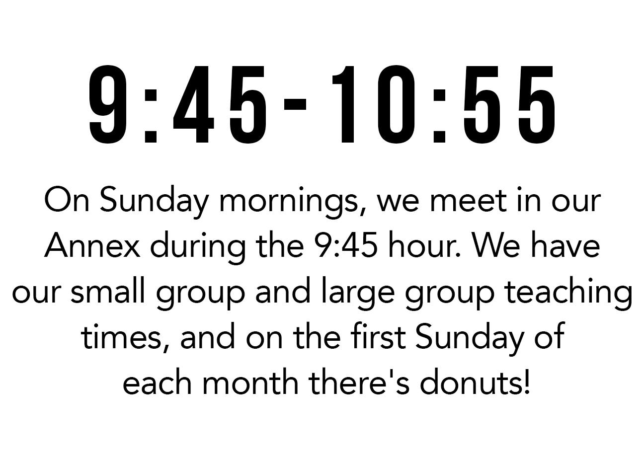 9:45-10:55